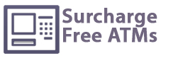 Surcharge Free ATMs & Debit Card